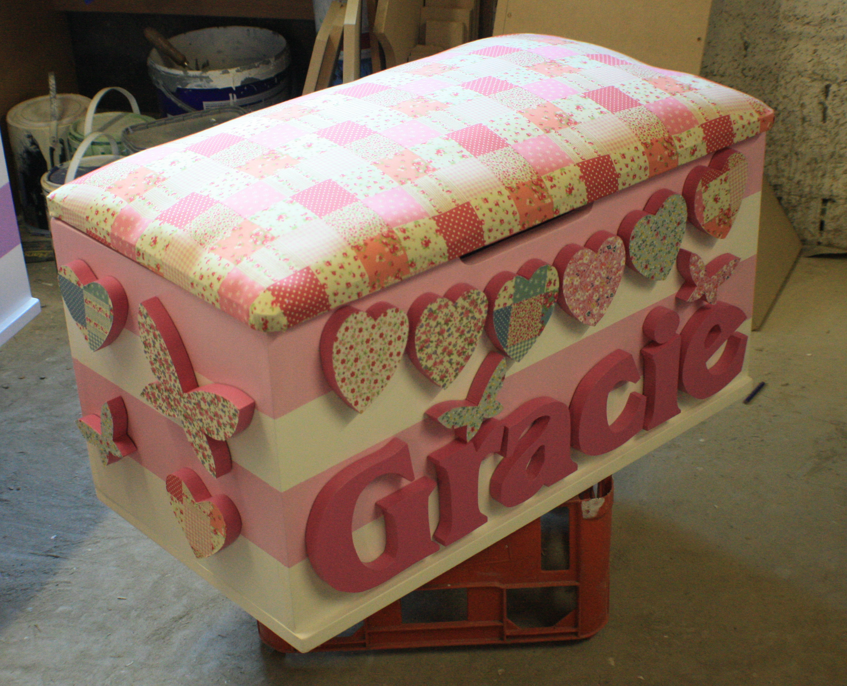Toy Boxes For Girls : Girls toy boxes the traditional box company