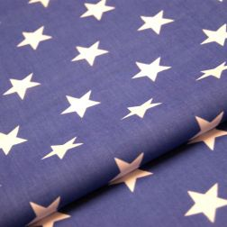 Dark blue white stars
