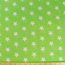 Green white stars