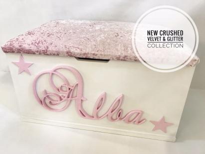 New Crushed Velvet & Glitter Collection
